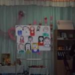 Портреты  наших  любимых  мам.